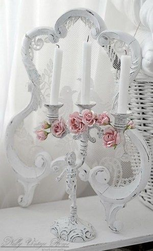 the shabby chic decorating style is especially warm and inviting for any interior design here