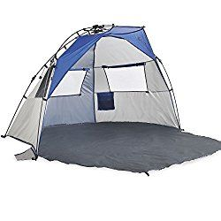 Baby Beach Gear - bring a pop up baby beach tent.  This one has a bottom that keeps sand out of your beach supplies.