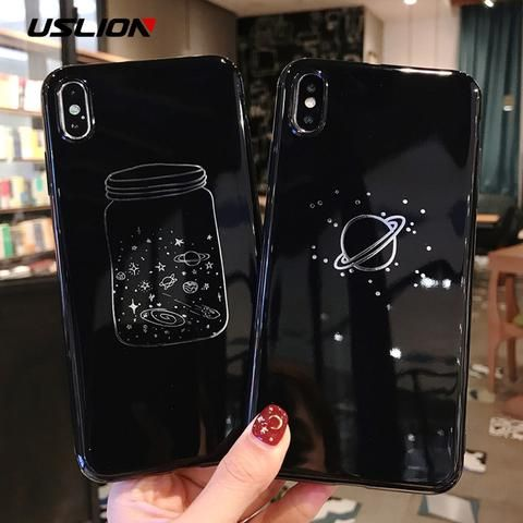 Moskado Phone Case For iPhone 6 6S 7 8 Plus X XR XS Max Case Cartoon Cute Duck Letter Soft TPU For iPhone X Phone Back Case Capa
