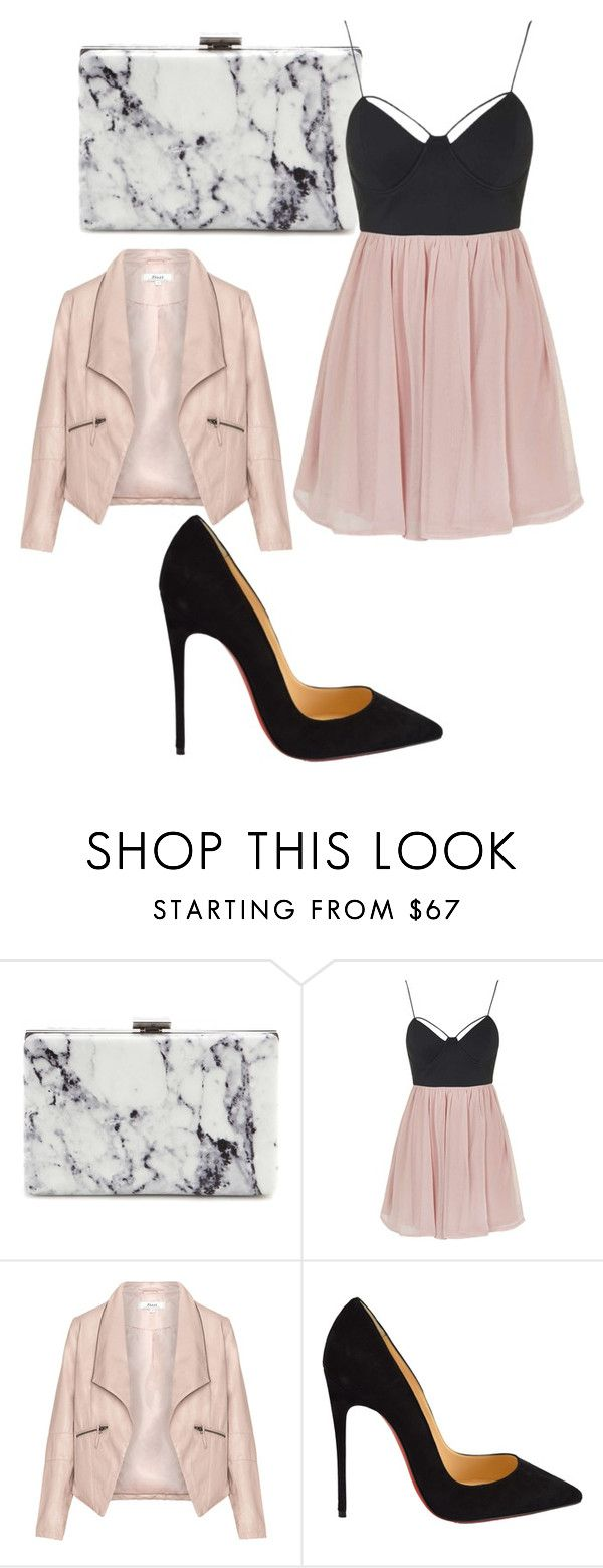 """Untitled #402"" by rose-tyler-i-doctorwho ❤ liked on Polyvore featuring Balenciaga, Topshop, Zizzi, Christian Louboutin, women's clothing, women, female, woman, misses and juniors"
