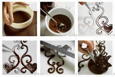 Csokoládé dekoráció készítése képekben Modellező csokoládét vásárolj a GlazurShopban! http://shop.glazur.hu/diszito-eszkozok/modellezo-csokolade