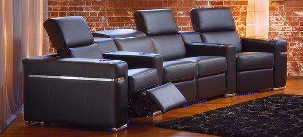 Sectional Jesse - Contemporary Style - Linea 30 Collection ------------------------------ Modulaire inclinable, appui-tête ajustable, cuir noir, plusieurs configuration disponible. Causeuse, fauteuil, salon, appartement, maison, décor, sofa, sectionnel. Fait au Canada. ---------------------------------------- Sectional, recliner, adjustable headrest, black leather, choose your configuration. Loveseat, accent chair, livingroom, apartment, house, decor, sofa, modular. Made in Canada.