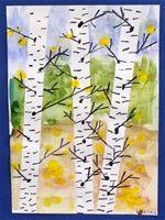 Kuvahaun tulos haulle pinterest koivu maalaus