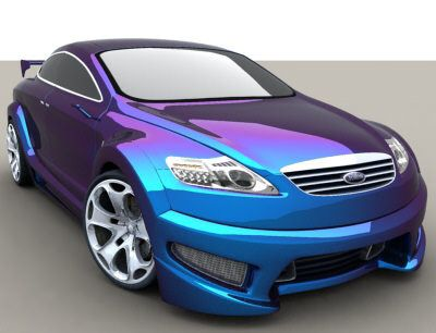 This color is awesome, i like it. Its a purple blue color. Cars not bad either. :)