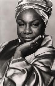 Nina Simone, born Eunice Kathleen Waymon. American singer, songwriter, pianist, arranger, and civil rights activist