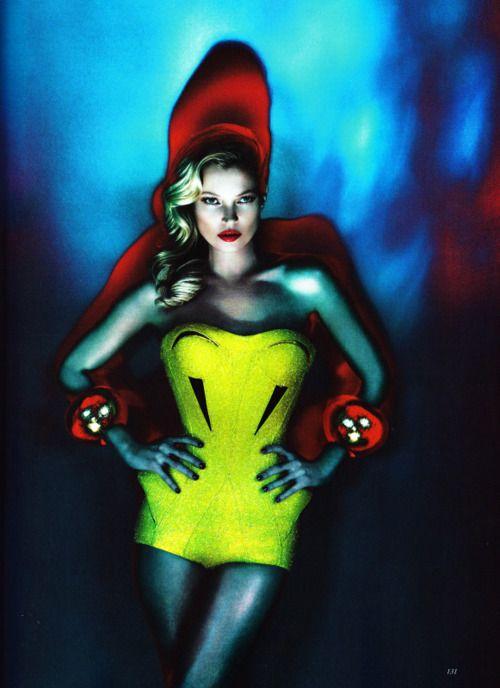 fluo kate.: Marcus Piggott, Editorial, Vogue Uk, June 2012, Katemoss, Vogueuk, Fashion Photography, Kate Moss, Mert Alas
