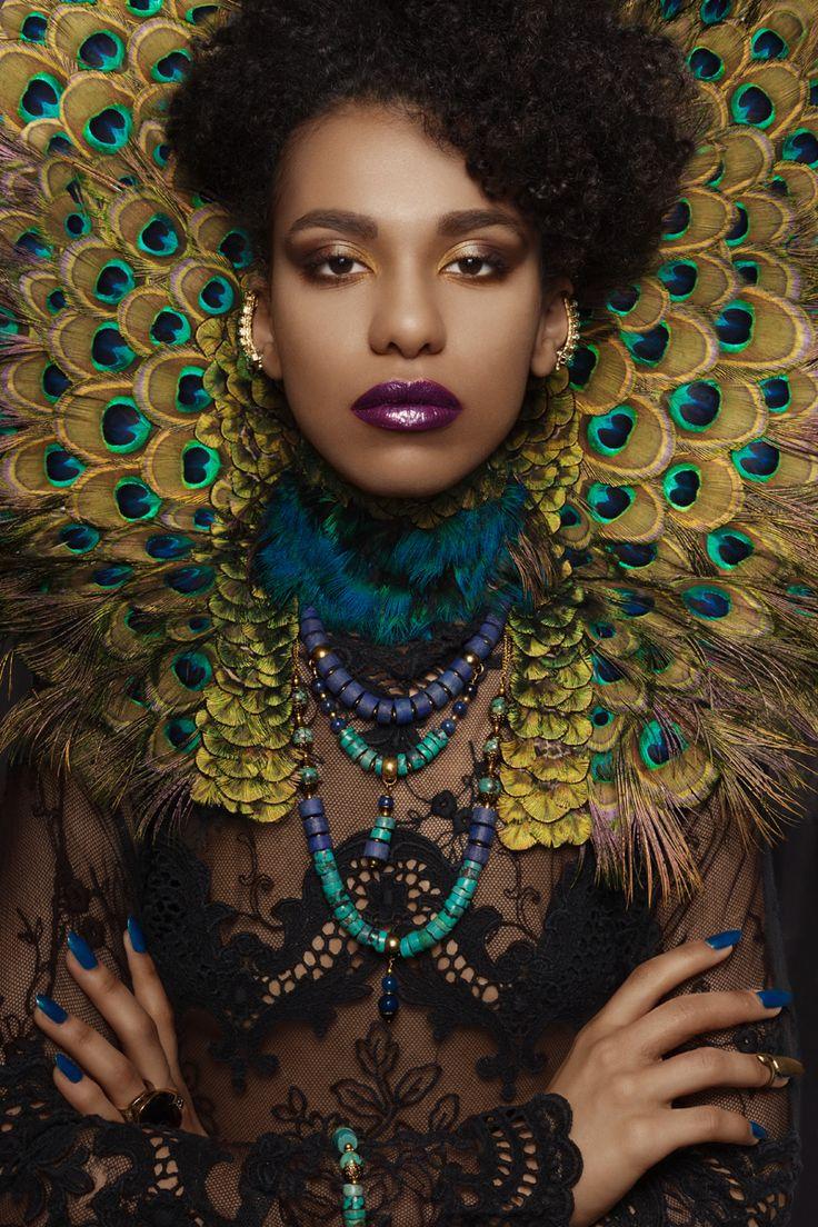 Character Concept: Klaudia Utnicka Make up / Hair: Klaudia Utnicka Kryza / Style /Hand made jewellery: Klaudia Utnicka Modelka:Marta Jaoko Fotograf / Retusz: Karolina Harz