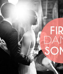 First Dance Songs (that won't make you barf)