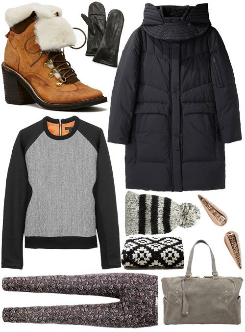 Weather Vain: What to wear in Indianapolis, Indiana when it's -13 and Mostly Cloudy