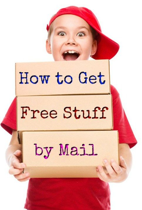 How to get free stuff by mail