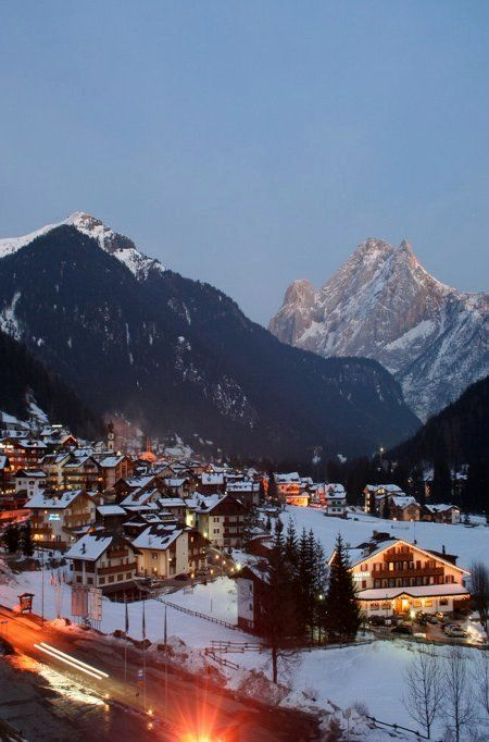Canazei, Trentino-Alto, Italy, province of South Tyrol