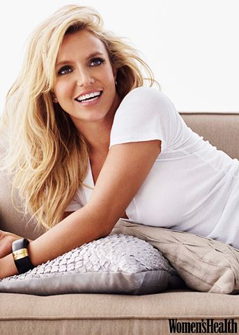 Behind the Hair: Britney Spears for Women's Health, January/February 2015