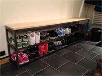 Banc : Création d'un banc range chaussures
