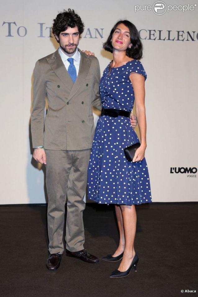 Marta Ferri and Carlo Borromeo . Milan