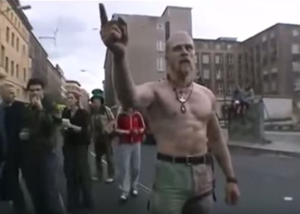 Watch a documentary on the infamous Techno Viking