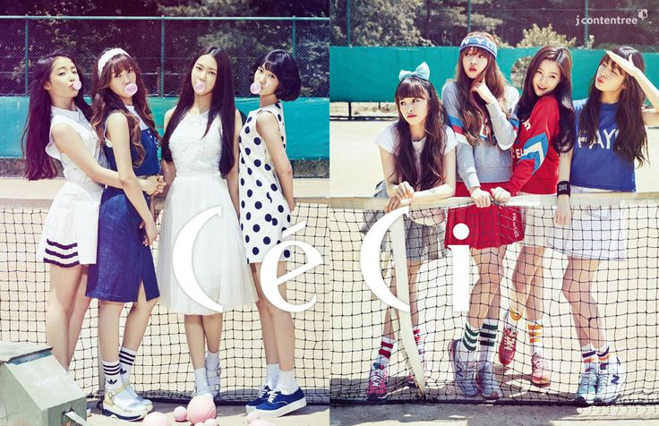 Oh My Girl - Ceci Magazine July Issue '15