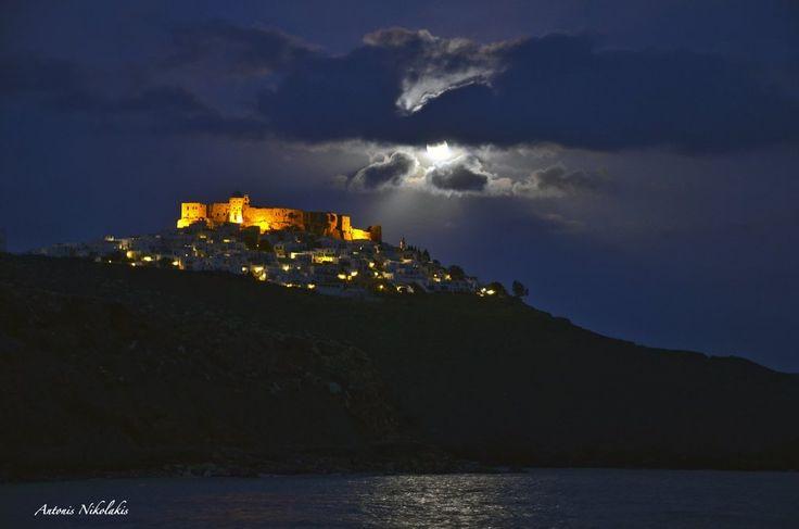 Princess of Aegean! (photo: Antonis Nikolakis) #astypalaia #visitgreece #greece #aegeansea #travel #winter