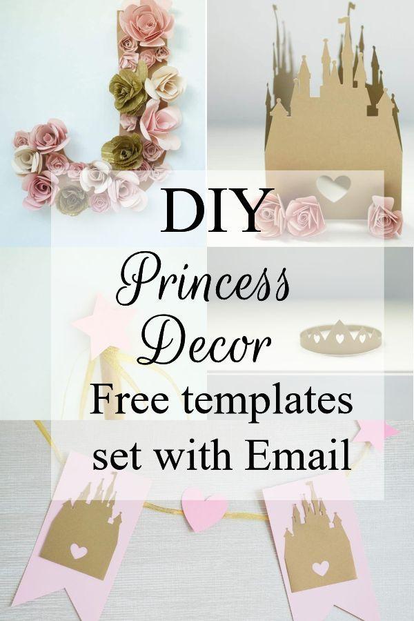 Diy Princess Decorations Kit In 2020 Princess Birthday Party Decorations Diy Diy Princess Party Princess Birthday Party Decorations