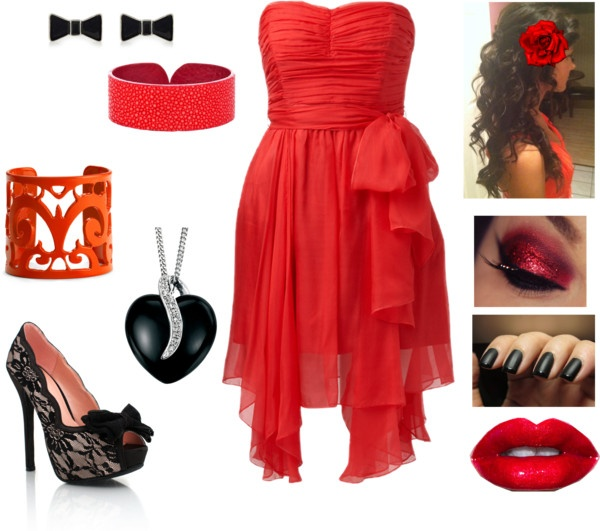 """""""Bal de promo 1"""" by love-mode11 ❤ liked on Polyvore"""