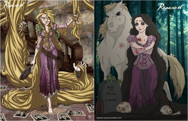 1716 Alice Zombiországban, avagy mi lenne, ha a Disney hercegnők a gonoszok táborát gazdagítanák