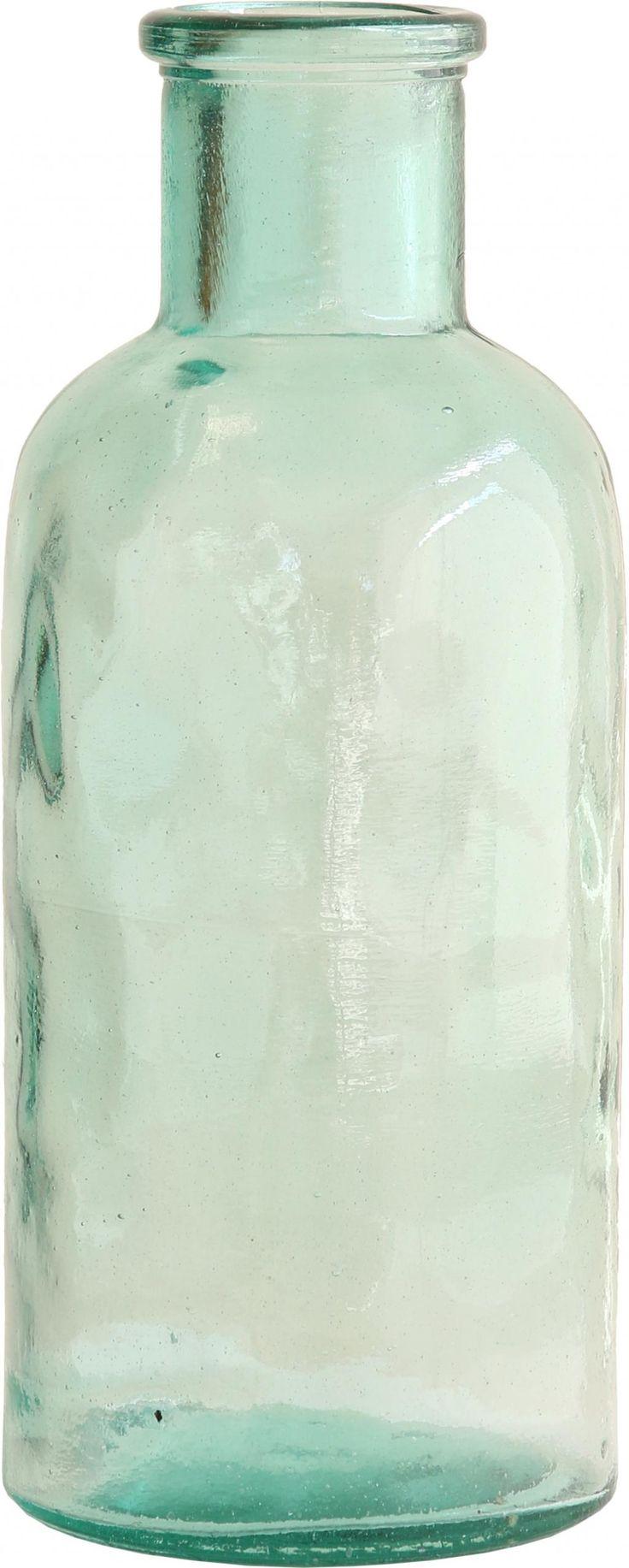 Bloemenvaas - glas - groen transparant - large - HK Living