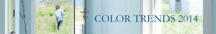 Benjamin Moore Color Trends 2014 - Clay Beige