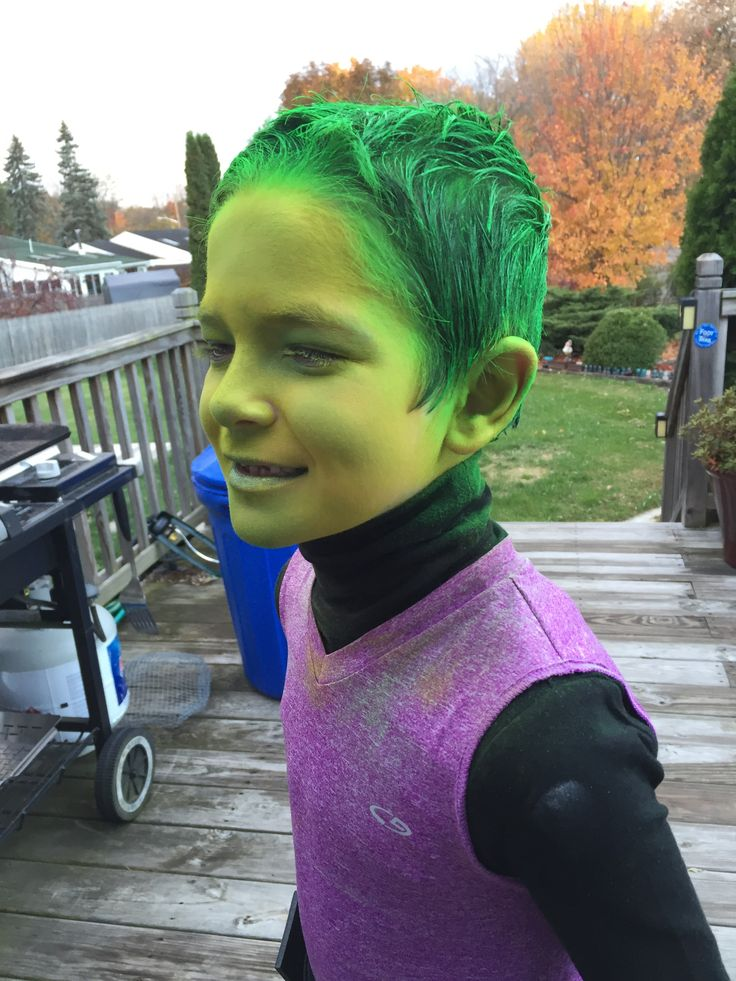 beast boy costume ideas
