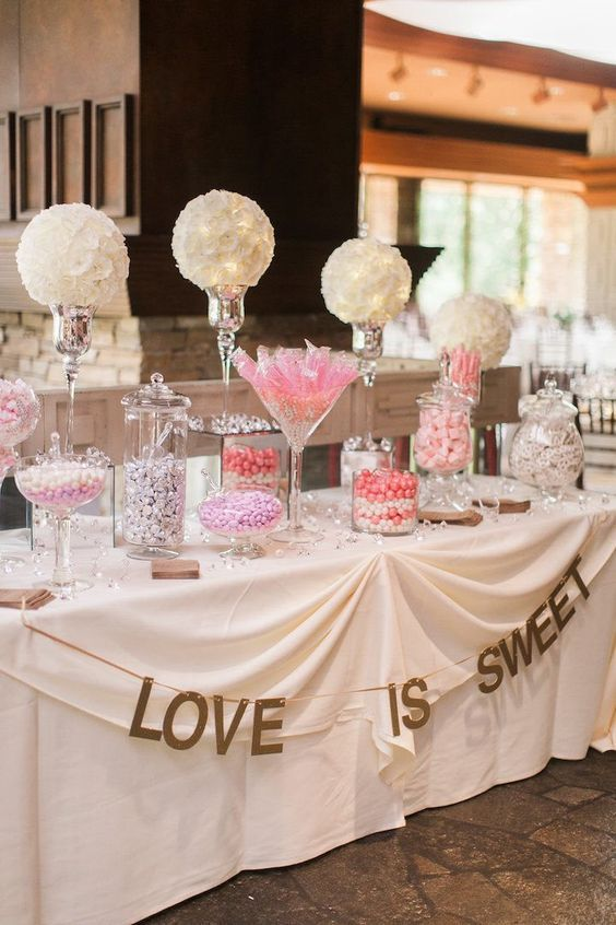 Featured photographer: Sposto Photography; wedding dessert table