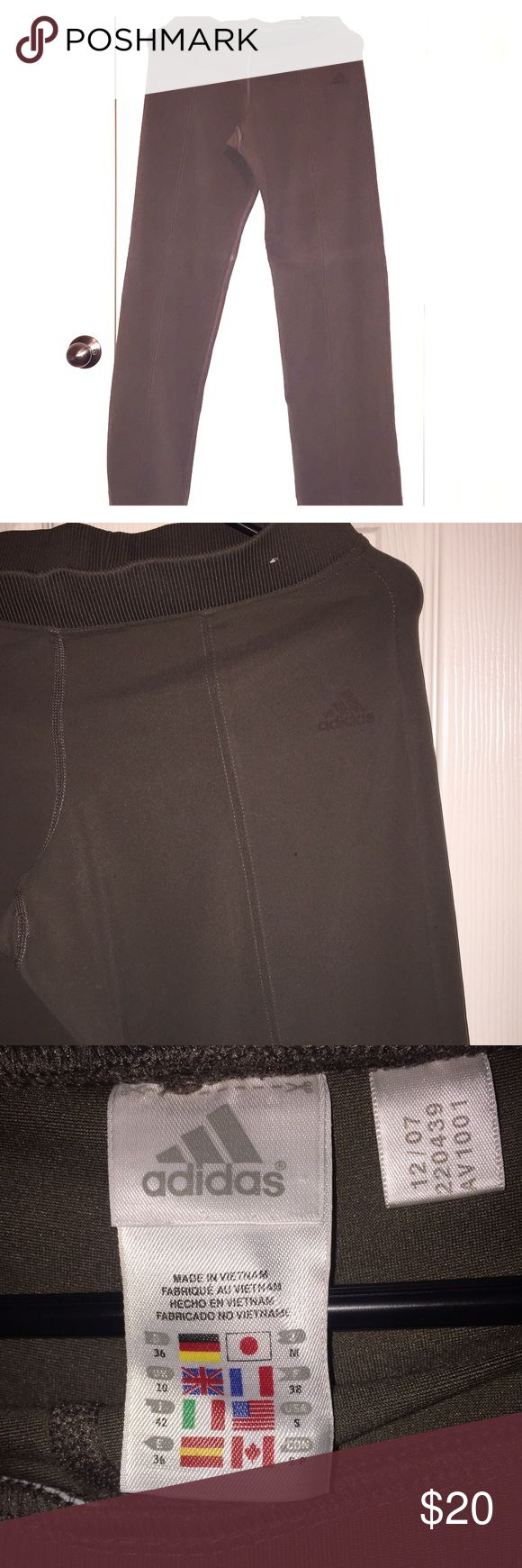 Adidas Pants Brown super comfy pants. Meant to be used for working out or lounging around. Like new. Adidas Pants Track Pants & Joggers