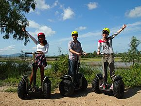 """Segway Tours in Townsville  Why not? Lol I'm putting this on the to do list. $55 per person hour for their """"Informative Rowes Bay Tour"""" or $150 per person for their wetlands tour (but you need to book with five people)  http://m.segwaytownsville.com.au/tours.html"""