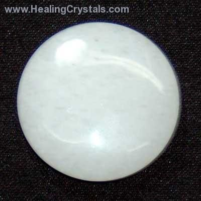 White Jade Healing Crystals - White Jade has long been used to boost energy and filter out unwanted distractions.