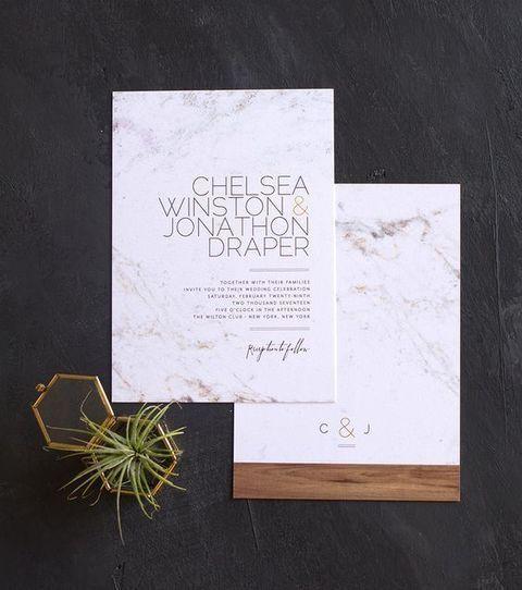 Best 25 Modern Wedding Invitations Ideas On Pinterest