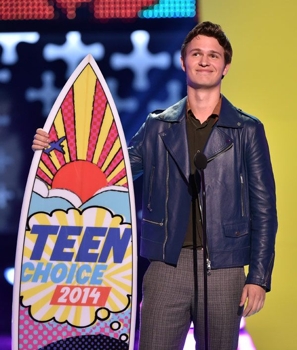 Teen Choice Awards Winners 2014 %u2014 Full List: Ansel Elgort &�More