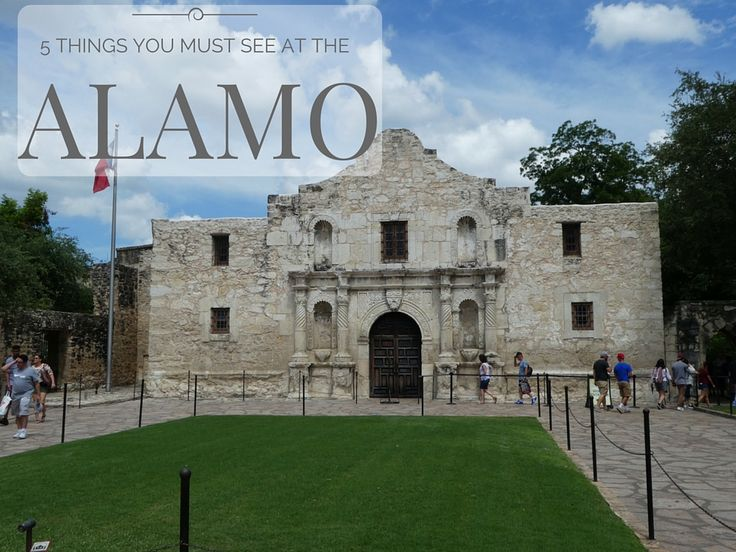 If you are visiting San Antonio, Texas, here are the 5 things you must see at the Alamo in downtown San Antonio. This list is perfect for children too.