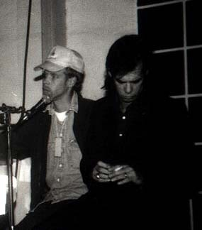 Nick Cave and Will Oldham 1999