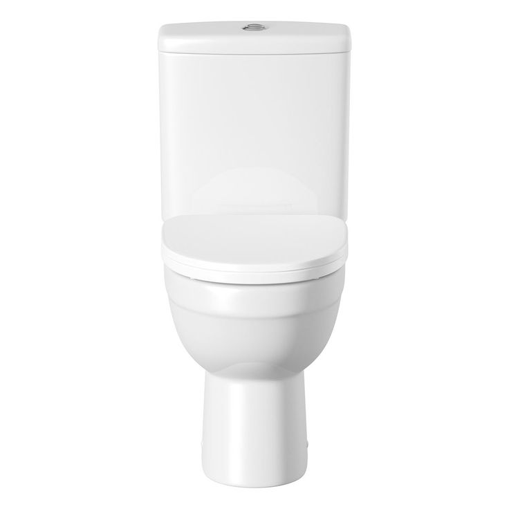 The Energy close coupled toilet is a <b>space saving short projection toilet</b>, effortless and modern design. The clean smooth lines unify with the subtle shape beautifully. Crafted from high quality white vitreous china and complete with a soft closing seat. The Energy bathroom suite will stand proud in any new bathroom.