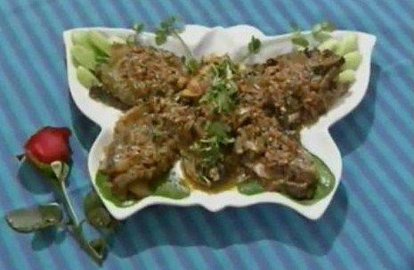 DIY 徽菜 (85) 蟹黄海参  http://easydiy365.com/?p=9229