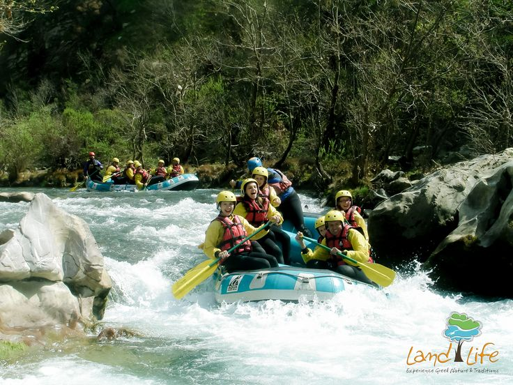 No matter your physical condition, rafting  at Lousios and Alfios river in Greece is always an excelent getaway from your daily routine