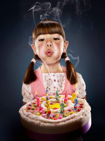 Bye bye birthday cake? New guidelines for childcare centres comes with a warning against allowing children to blow out candles on birthday cake to prevent the spread of germs..