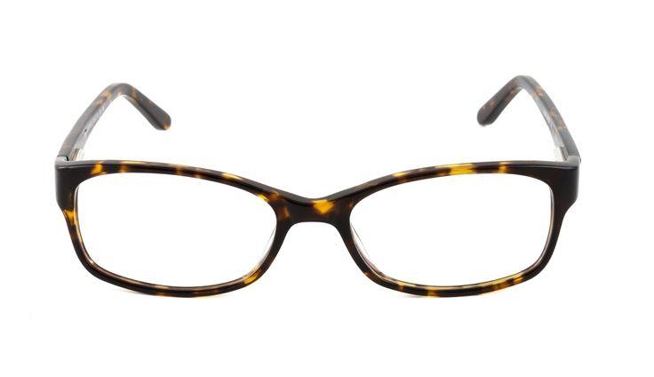 D by D Women's Tortoiseshell Rectangle Glasses 10004194 - Vision Express £99