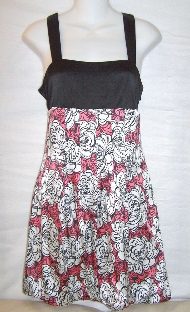 #GUESS Jeans #EmpireWaist #LittleBlackDress #black white & #pink #floral #print #stretch #silk blend empire waist style #short #mini #sleeveless #pleated #dress with full lining & side matching invisible hidden zipper closure in #womens #ladies #misses size small/S, excellent used condition http://www.ebay.com/itm/GUESS-JEANS-FLORAL-PRINT-STRETCH-SILK-SHORT-SLEEVELESS-DRESS-WOMENS-SIZE-SMALL-S-/111377812894?pt=US_CSA_WC_Dresses&hash=item19eea28d9e