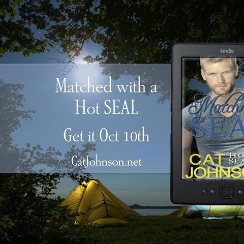 Cover Reveal! Matched with a Hot SEAL #HotSEALs   catjohnson.net/book/matched-with-a-hot-seal  #CoverReveal #bookboyfriend #readromance