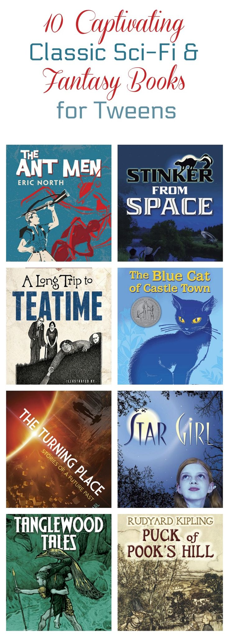 10 Scifi & Fantasy Books To Introduce Tweens To The Classics