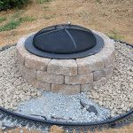 Do It Yourself Fire Pits Stone