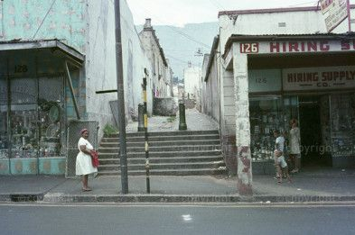 Seven steps in Hanover Street, District six, Before distruction