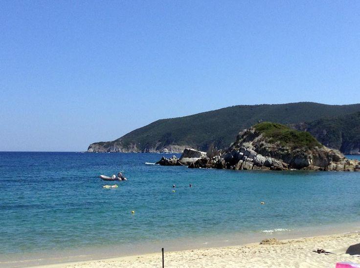 Kalamitsi #beach #Sithonia  http://gohalkidiki.com/  #gohalkidiki #greeksummer