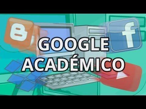 Formación docente: Google académico - YouTube