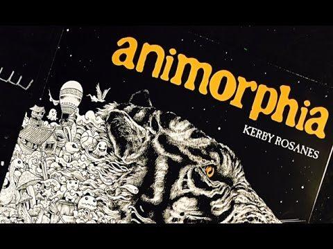 Animorphia Color Book I Am Working In