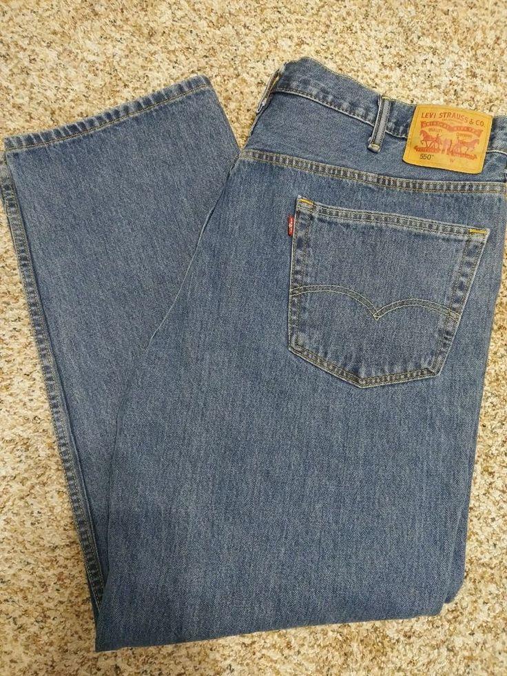 Levis Mens 550 Jeans Size 44 x 32 #Levis #550