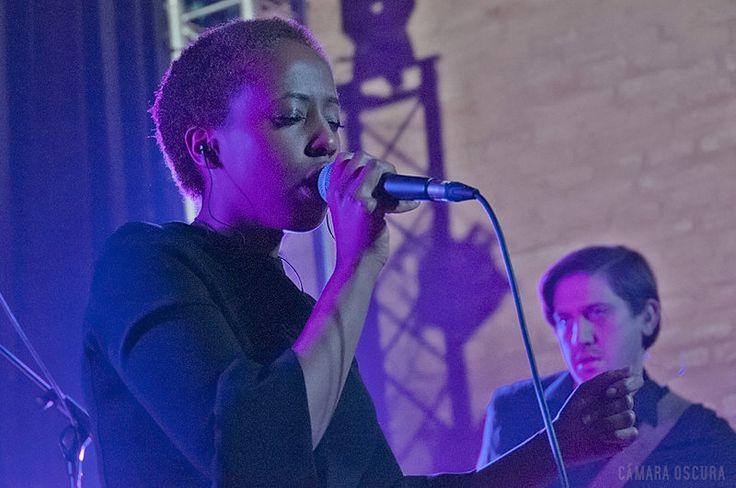 Cold Specks, Antigua Fábrica Estrella Damm (Barcelona) 10/02/2015 #coldspecks #concertphotography #concierto